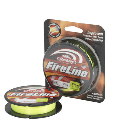 Berkley Fireline Flame Green 110m - Monikuitusiimat - 028632655153 - 1