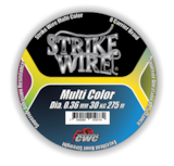 Strike Wire Multi Color 8-Strand -  - 7340029411115 - 1