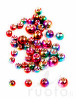 Rainbow Plummeting Tungsten Beads -  - 762820143106 - 1