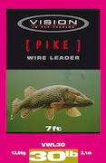 Vision Pike Wire Leader -  - 6417512809917 - 1