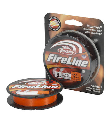 Berkley Fireline Orange 110m -  - 028632702307 - 1