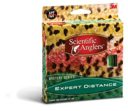 Scientific Anglers Mastery Expert Distance 120ft Orange #5 Competition - Flytlinor - 051131546738 - 2