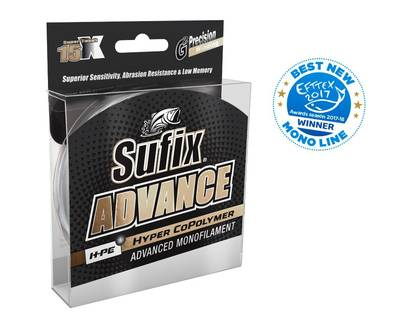 Sufix Advance 0,18mm - Monofiilisiimat - 024777708136 - 1