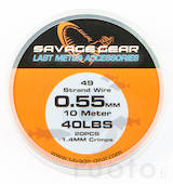 Savage Gear Stainless Steel Wire -  - 5706301488299 - 1