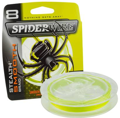 SpiderWire Stealth Smooth 8 Hi-Vis Yellow -  - 022021649099 - 1